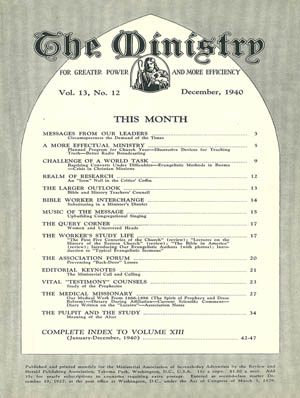 December 1940 cover image