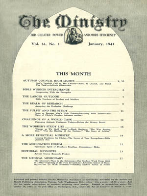 January 1941 cover image