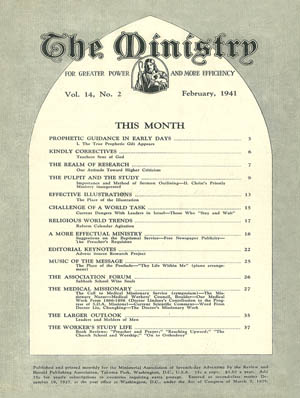 February 1941 cover image