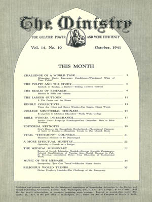 October 1941 cover image