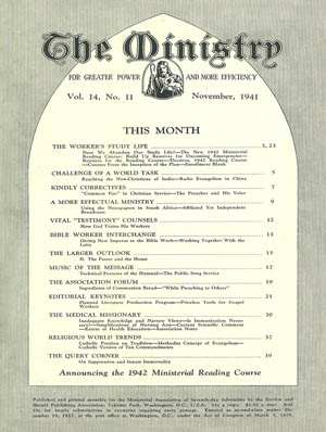 November 1941 cover image