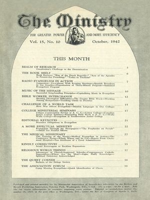 October 1942 cover image