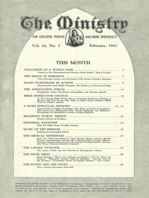February 1943 cover image