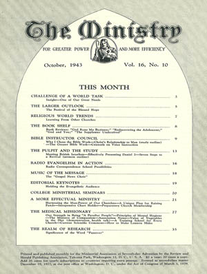 October 1943 cover image