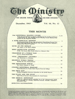 December 1943 cover image