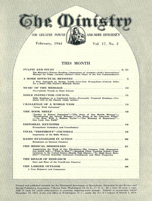 February 1944 cover image