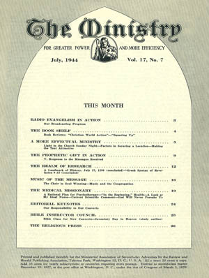 July 1944 cover image