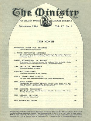 September 1944 cover image