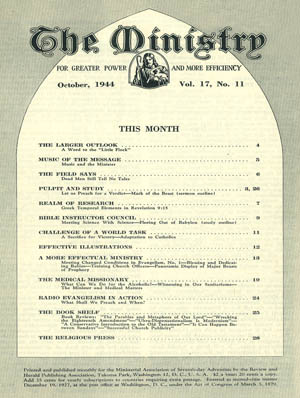 October 1944 cover image