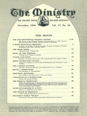 Novemer 1944 cover image