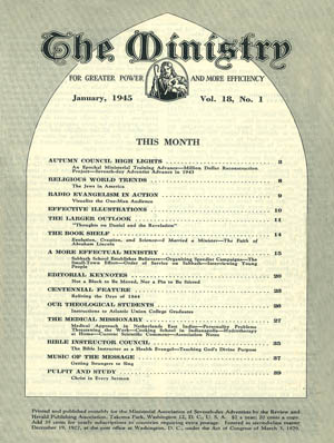 January 1945 cover image