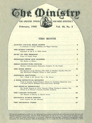 February 1945 cover image