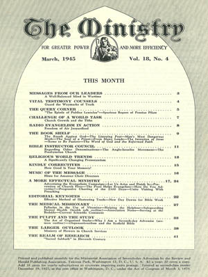 March 1945 cover image