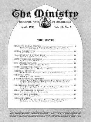 April 1945 cover image