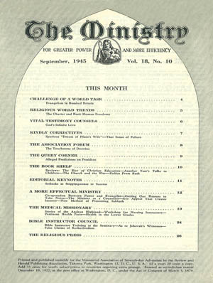 September 1945 cover image