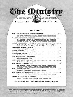 November 1945 cover image