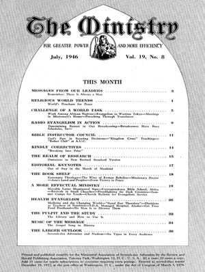 July 1946 cover image