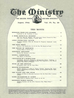 August 1946 cover image