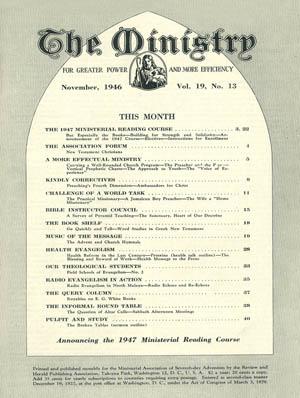 November 1946 cover image