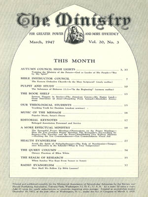 March 1947 cover image