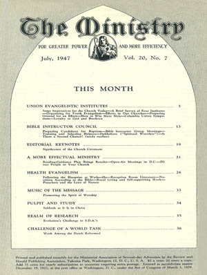 July 1947 cover image