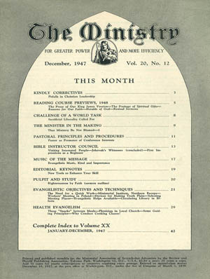 December 1947 cover image