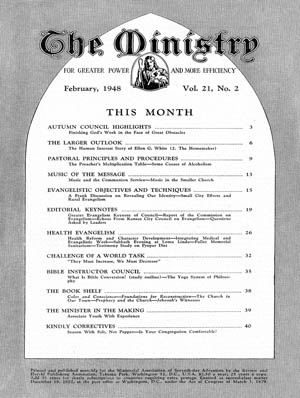 February 1948 cover image