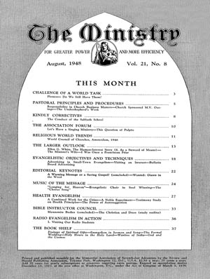 August 1948 cover image