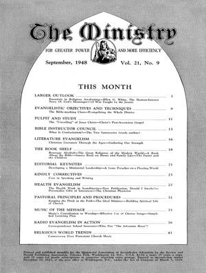 September 1948 cover image