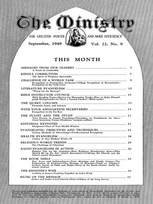 September 1949 cover image