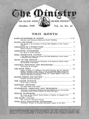 October 1949 cover image