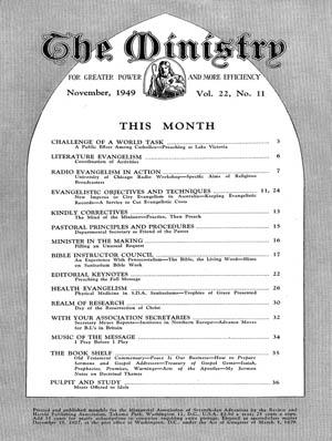 November 1949 cover image