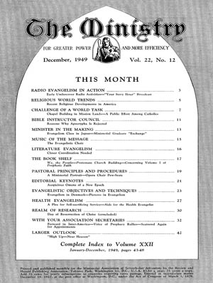 December 1949 cover image