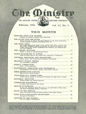 February 1950 cover image
