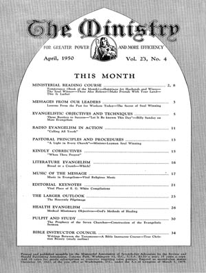 April 1950 cover image