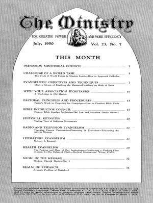 July 1950 cover image