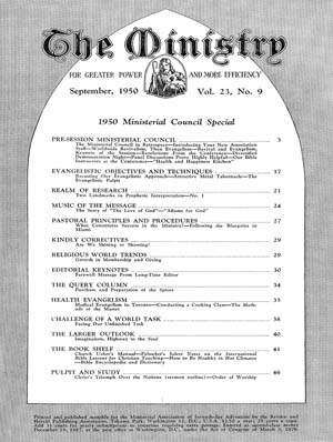 September 1950 cover image
