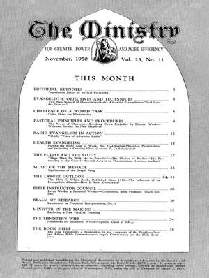 November 1950 cover image