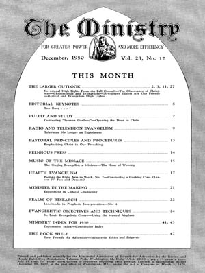 December 1950 cover image