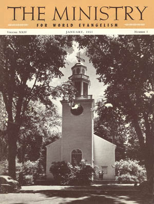 January 1951 cover image