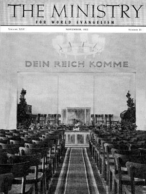November 1952 cover image