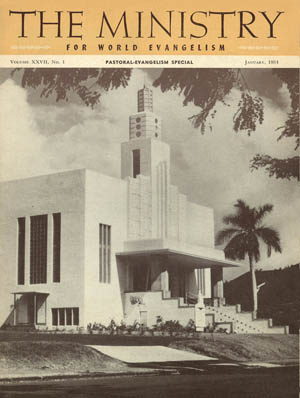 January 1954 cover image