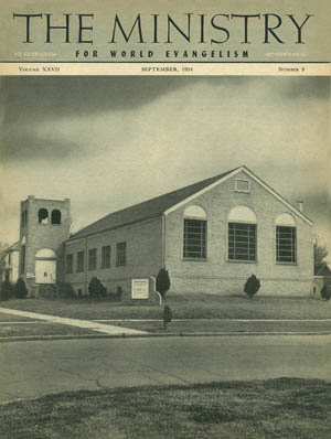 September 1954 cover image