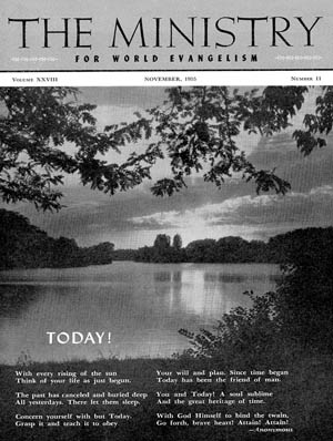 November 1955 cover image