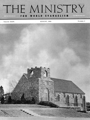 August 1956 cover image