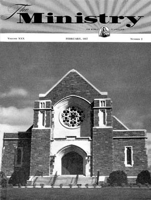 February 1957 cover image