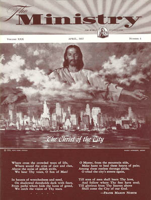 April 1957 cover image