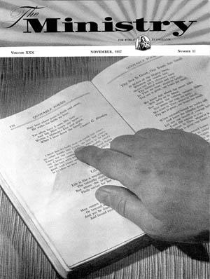 November 1957 cover image