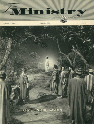 April 1958 cover image
