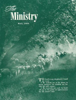 May 1958 cover image
